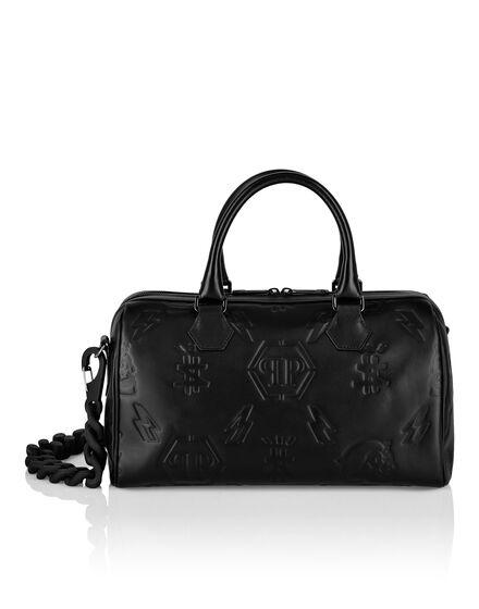 Leather Small Travel Bag Monogram