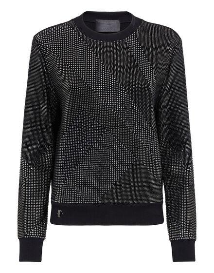 Sweatshirt LS Full Crystal