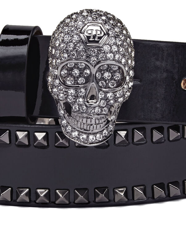 Leather Belts Skull