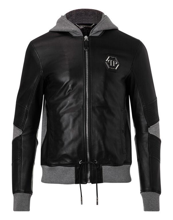 """Leather Jacket """"Oda"""""""