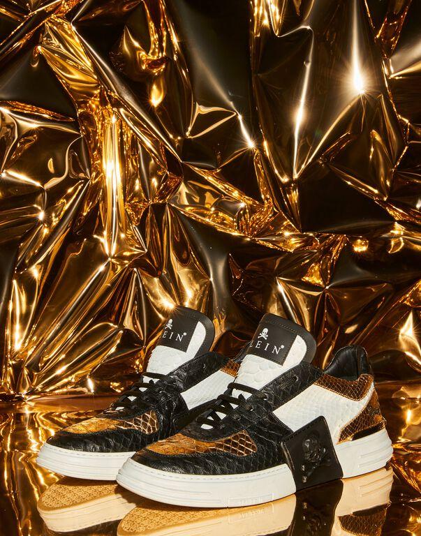PHANTOM KICK$  Lo-Top Sneakers Gold