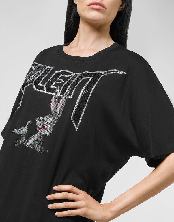 T-shirt Round Neck SS stones Looney Tunes