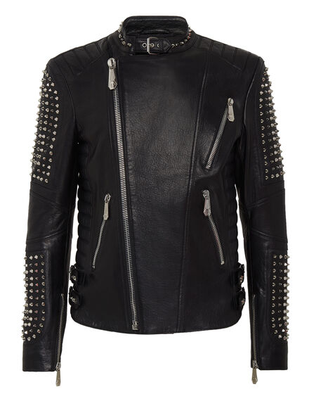 Leather Biker Pink paradise