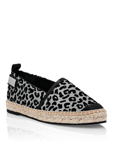 Espadrillas Lamè Leopard