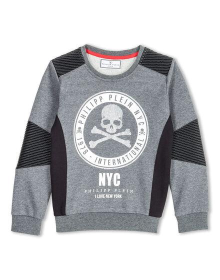 Sweatshirt LS Pale NY