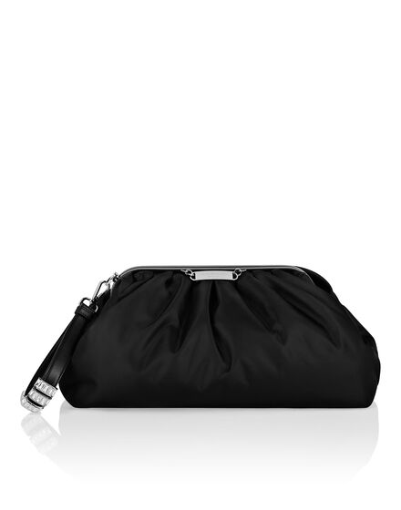 Nylon Big Pillow bag Iconic Plein