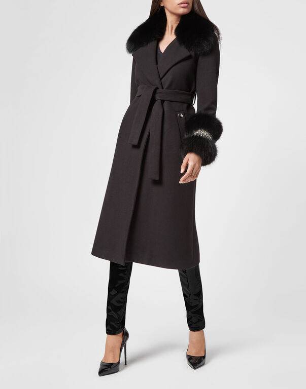 Coat Long Elegant