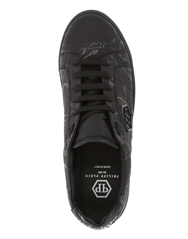 """Lo-Top Sneakers """"Dark Python"""""""