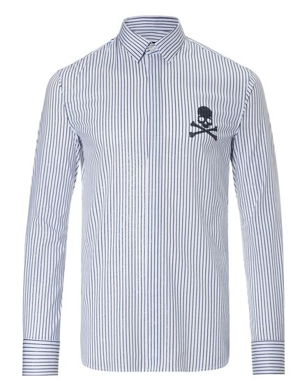 Shirt Diamond Cut LS New stripes