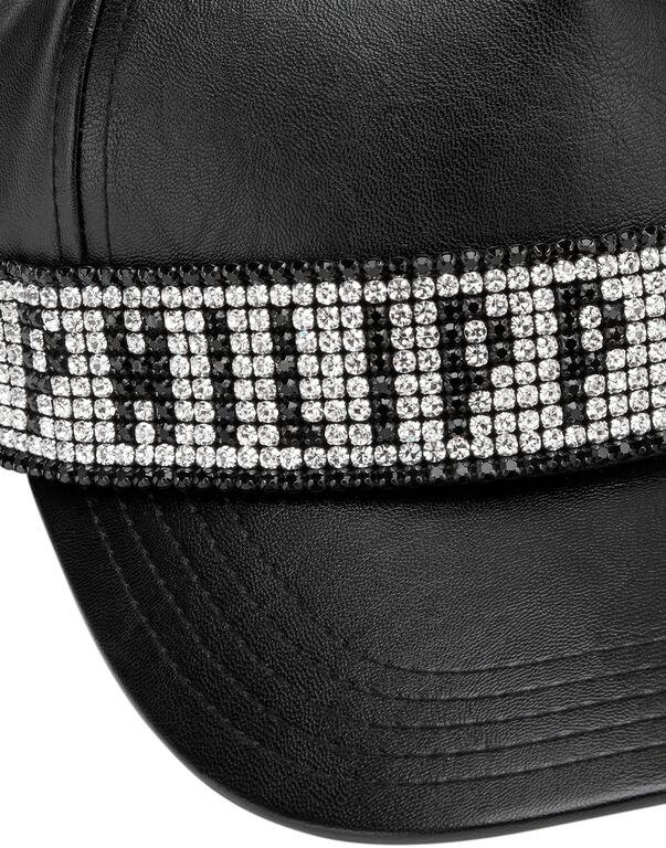 Visor Hat Crystal Plein