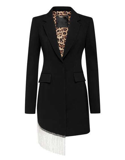 Blazer Dress Fringe