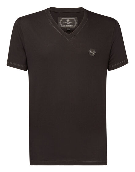 T-shirt Platinum Cut V-Neck Cold