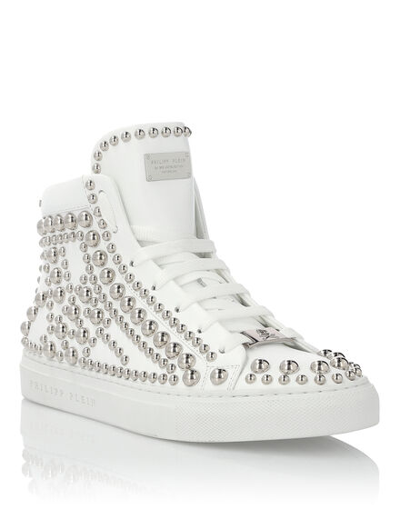 Hi-Top Sneakers Rock Girl