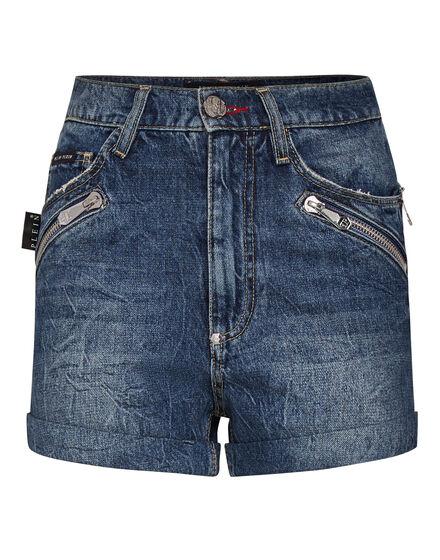 Hot pants Zipped