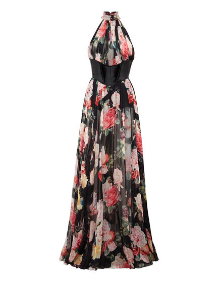 Long Dress Vittoria  Flowers
