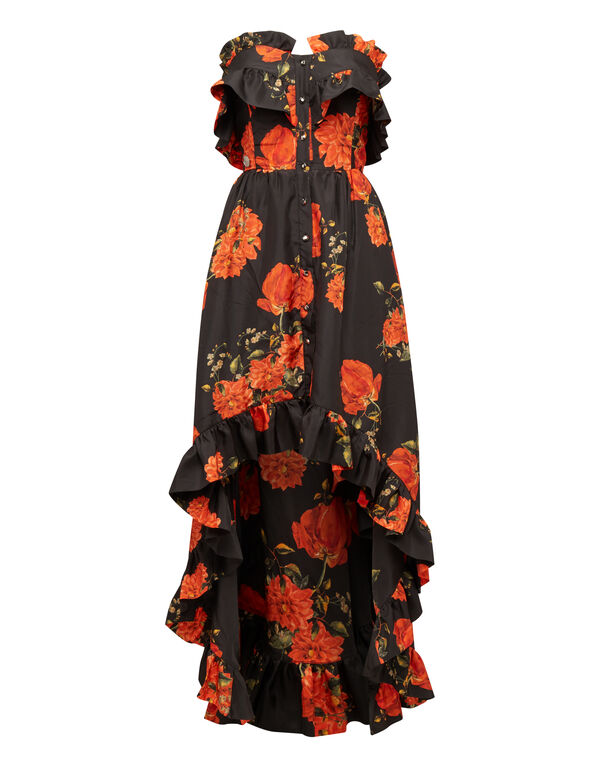 "Long Dress ""Full Of Flower"""