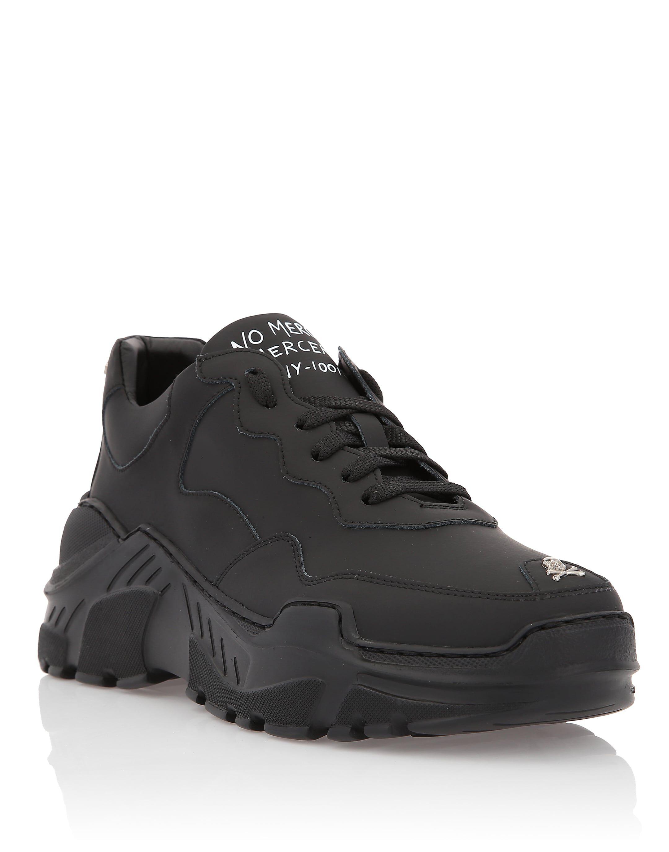 Philipp Chaussures De Sport À Bande Latérale Plein - Noir HWgc0kk8