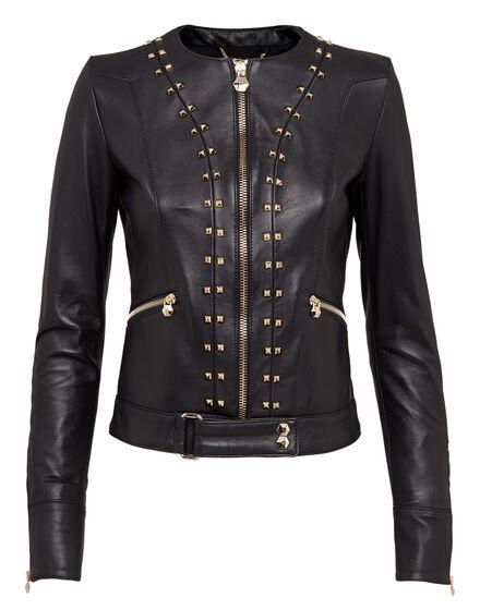 Leather Jacket Send My Love