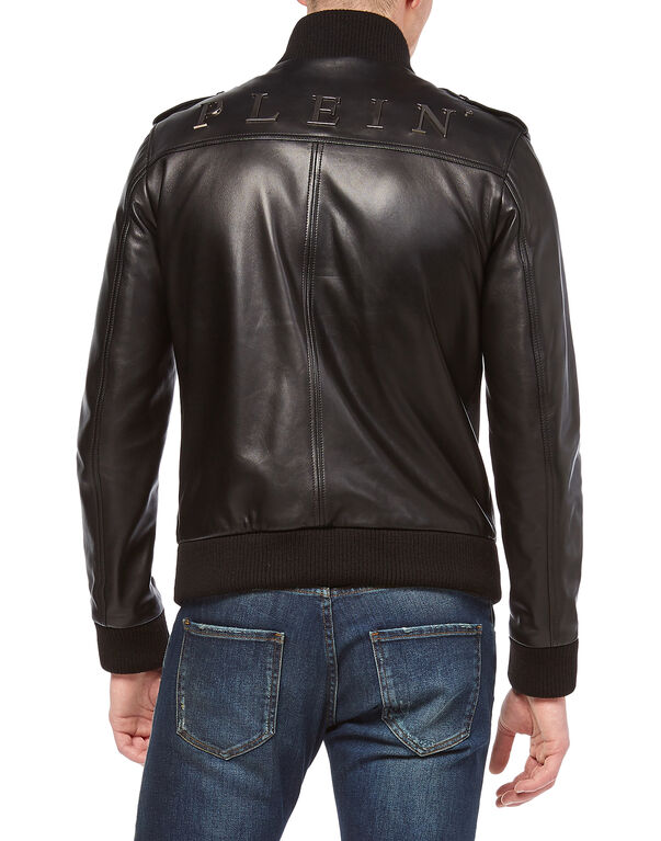 "Leather Jacket ""Metal"""