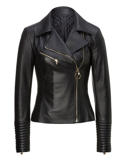 Leather Biker Wall Street