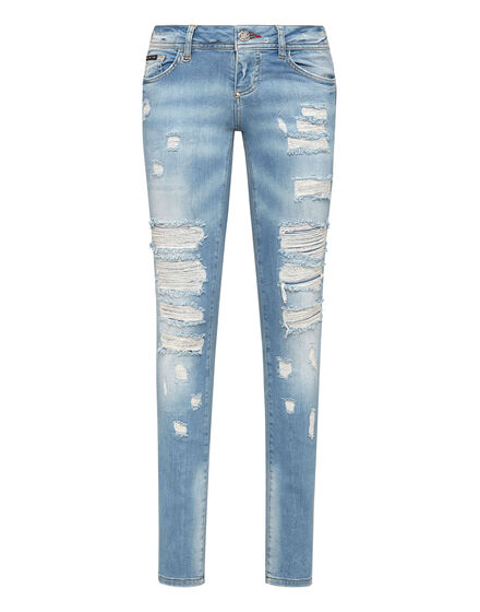 Super High Waist Jegging Iconic Plein