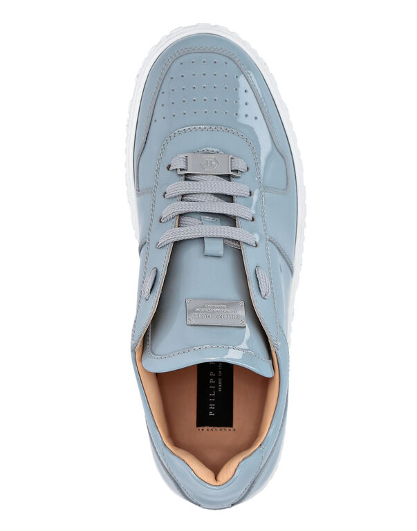 Patent Leather Lo-Top Sneakers King Power