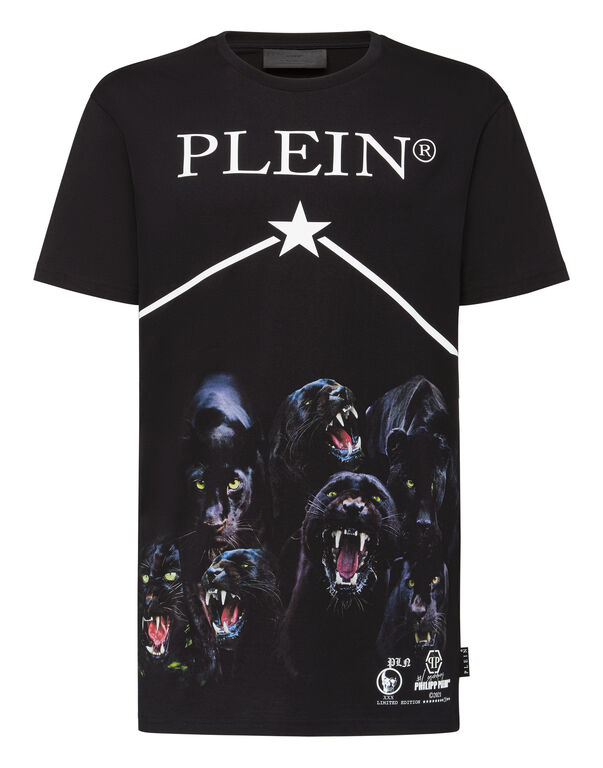T-shirt Round Neck SS Panther