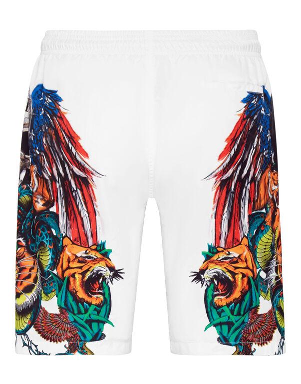 Beachwear Short Trousers Tattoo