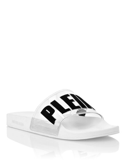 Flat gummy sandals Philipp Plein TM