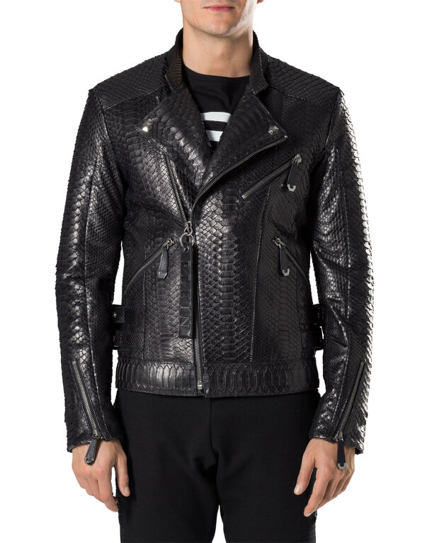 "Leather Biker ""Python"""