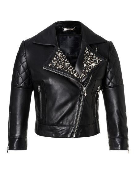 Leather Biker Kezia