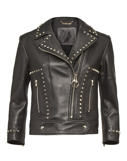 Leather Biker Thunder