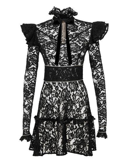 Short Dress Lace