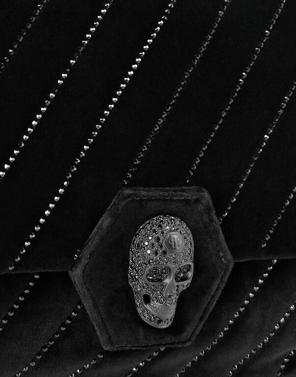 Shoulder Bag Skull crystal