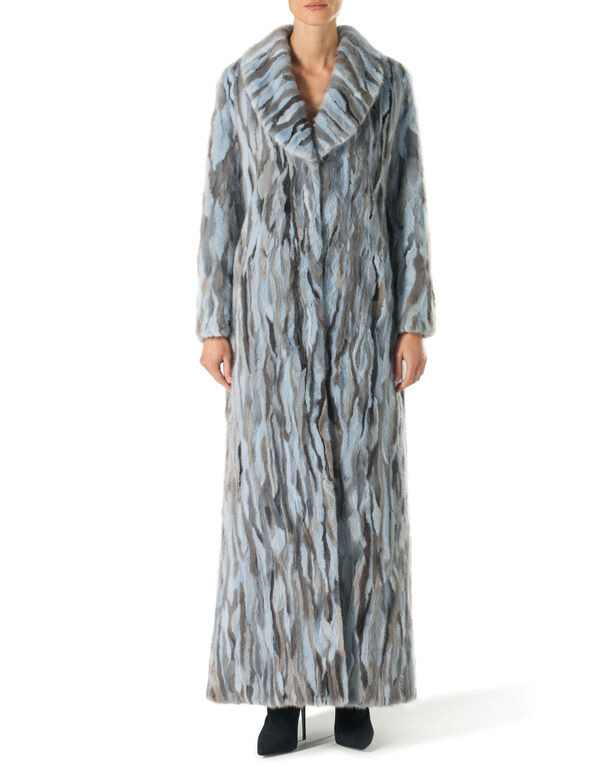 "Fur Coat Long ""Happyness"""