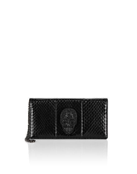 Shoulder Bag Skull crystal