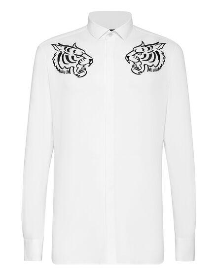 Shirt Platinum Cut LS Jungle