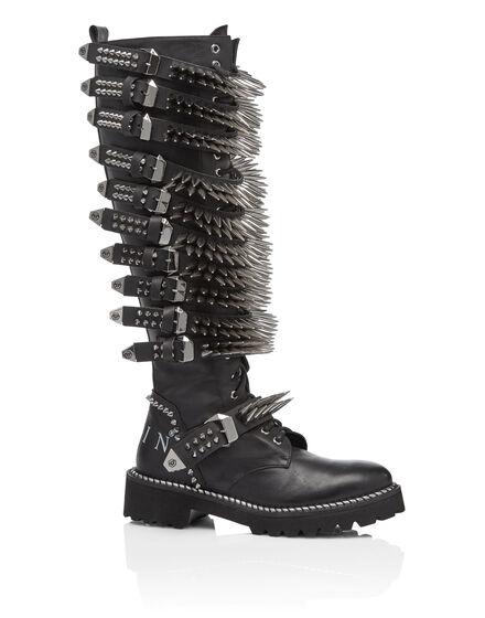 Boots Flat High