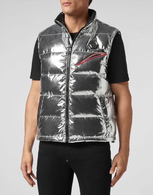 Short Nylon Vest Space Plein