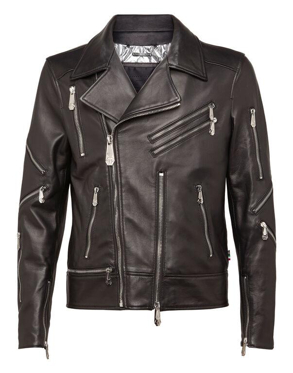 "Leather Biker ""Believer"""