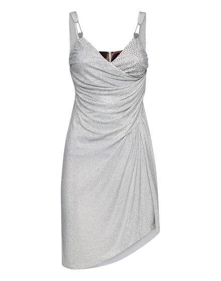 Short Dress Full Crystal