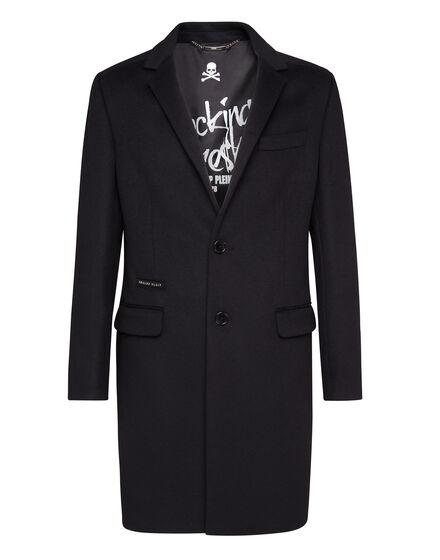 Coat Long Zipped