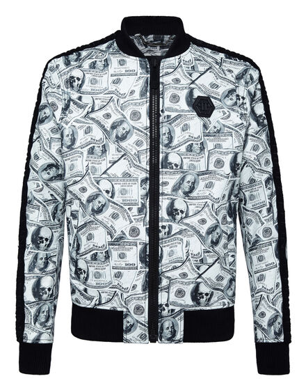 Leather Bomber Dollar