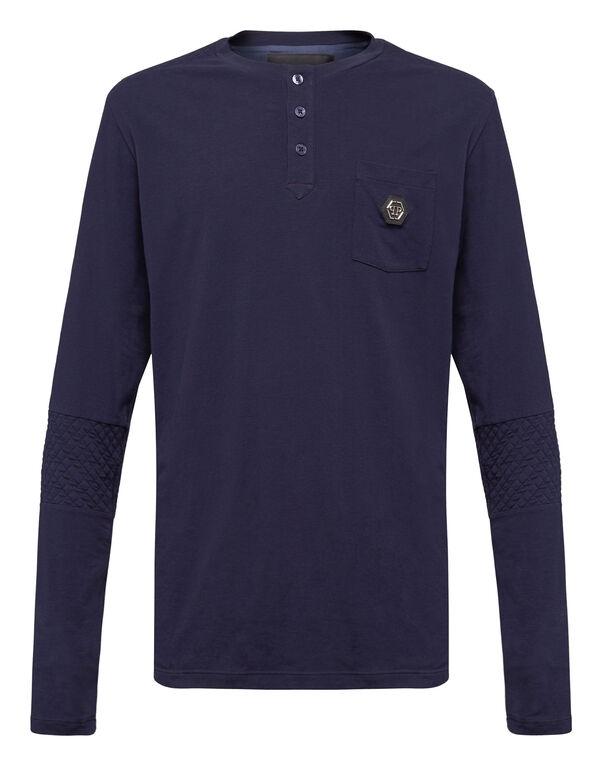 """T-shirt Round Neck LS """"Logo"""""""