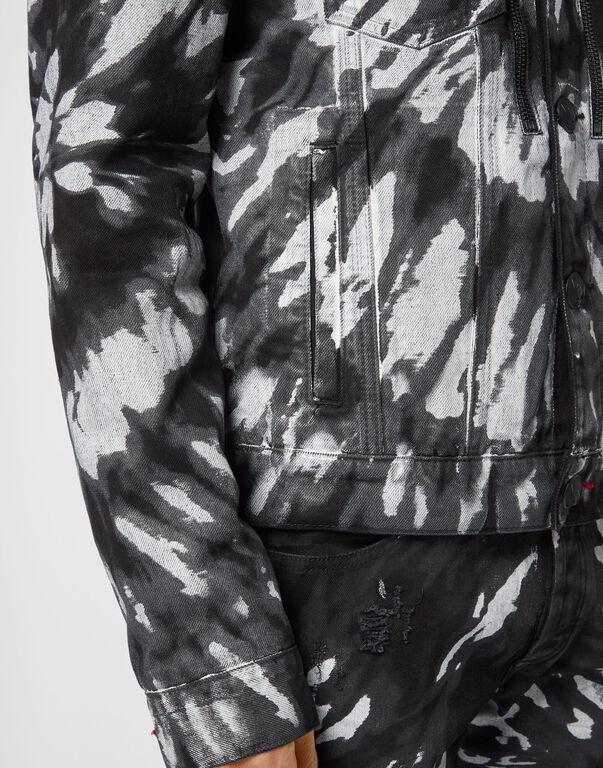 Drill Jacket Tie dye