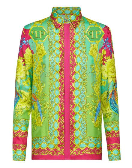 Silk Shirt Ls New Baroque
