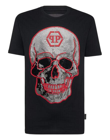 T-shirt Round Neck SS Crystal Skull