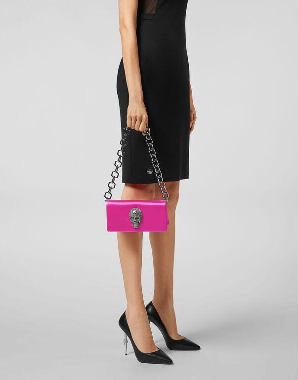 Satin Shoulder Bag Iconic Plein
