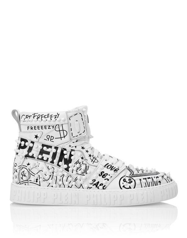 Hi-Top Sneakers Graffiti