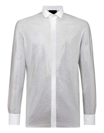 Shirt Platinum Cut SS Crystal
